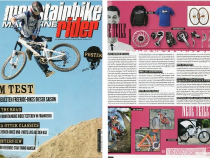 Mountainbike Rider Magazine 07/08