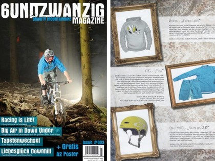 6UndZwanzig Gravity Magazine 03/11 | RAYNEC Into the woods Hoodie