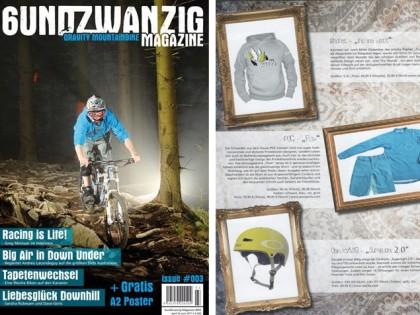 6UndZwanzig Gravity Magazine 03/11 | RAYNEC Into the woods Hoodie